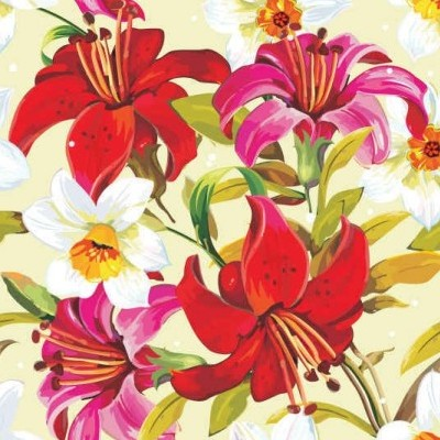 vector beautiful floral flowers background vector art   ai