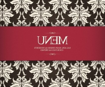 Vector Prime Menu Cover 03 Pattern Vector Art