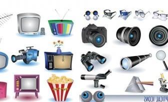 Vector Appliances And Cameras Vector Art