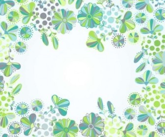 Vector Flowers Frame Flower Vector Art