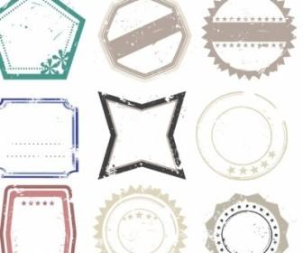 Vector Rubber Stamps Vector Art