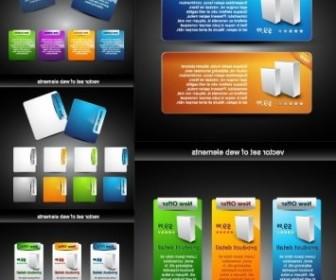 Vector Web Design Decorative Elements 2 Vector Art