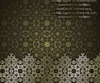 Vector Classic European Pattern Background003 Background Vector Art