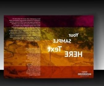 Vector Fine Leaflets Cover 03 Background Vector Art