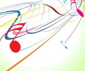 Vector Music Wave Vector Art