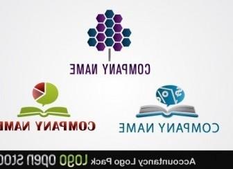 Vector Accountancy Logo Pack Vector Art