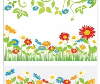 Vector Spring Flowers Flower Vector Art