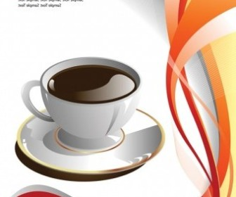Vector Coffee Cup Clip Vector Art