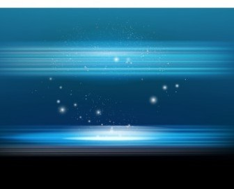 Vector Blue Abstract Background Vector Art