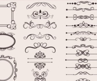 Vector Classic European 06 Pattern Vector Art