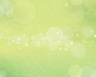 Vector Beautiful Bokeh Background Vector Art