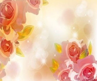 Vector The Trend Of Flowers Background 02 Flower Vector Art