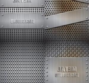 Vector Realistic Steel Nature Vector Graphics