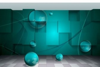 Vector Threedimensional Space For Creative Business 3 Background Vector Art