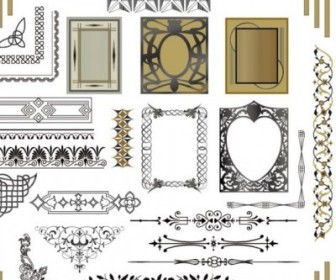 Vector Classic Lace 05 Pattern Vector Art