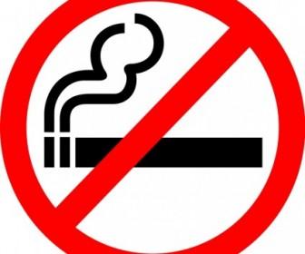"""Sign """"No Smoking"""" Vector Clip Art"""