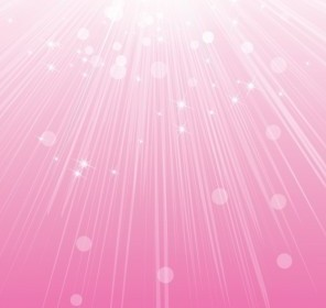 Vector Abstract Sunlight Pink Background Vector Art