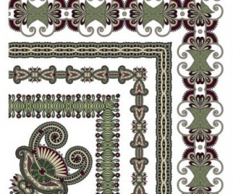 Vector Classic Decorative Patterns Elements 03 Pattern Vector Art