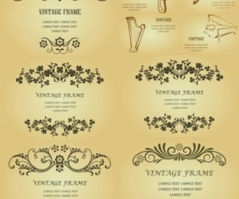Vector Classic Retro Pattern Background Vector Art
