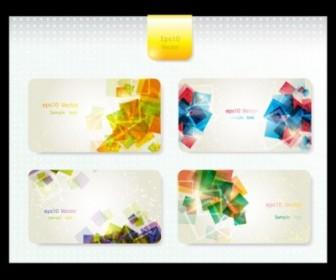 Vector Dynamic Gorgeous Card 02 Background Vector Art