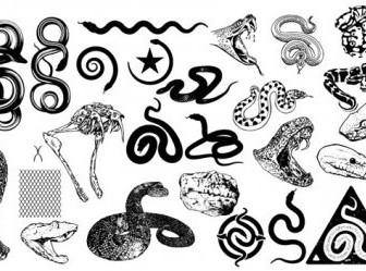 Vector Gomedia Snakes Produced Vector Art