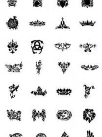 Vector Heraldry Sets Vector Art