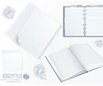 Vector Notepad 02 Vector Art