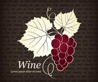 Vector Red Wine Illustrator Vector Art