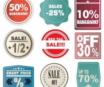 Vector Sale Labels Web Design Vector Graphics