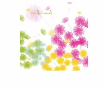 Vector Spring Background Floral Vector Art