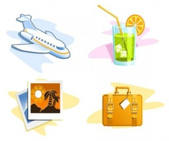 Vector Travel Theme Icon Vector Graphics