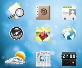 Vector Very Fine System 5 Icon Vector Graphics