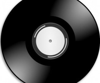 Vector Vinyl Disc Record Vector Clip Art
