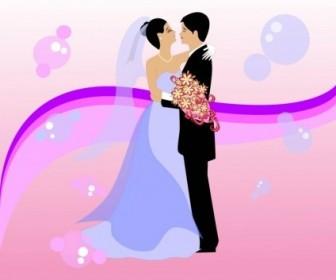 Vector Wedding Vector Art