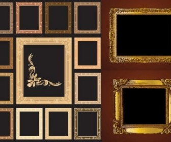 European Gorgeous Frame Vector Pack