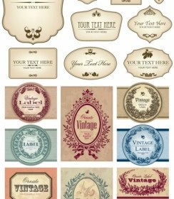 European Label Vector Set