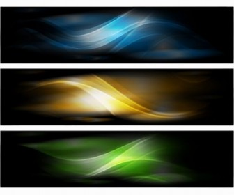 Vector Banner  Abstract Banner Background