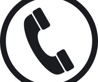 Phone Icon Vector Clip Art