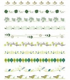 Free Vector Border Decoration Design Elements