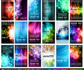 Variety Of Business Card Template Vector Collection