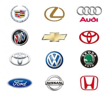 12 Automobile Logos Vector Collection Ai Svg Eps