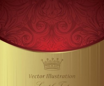 European Gorgeous Classic Pattern Background Vector
