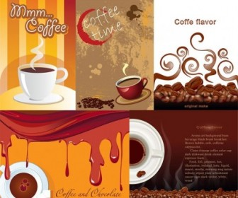 Vector Misc  Aromatic Coffee Theme Vector