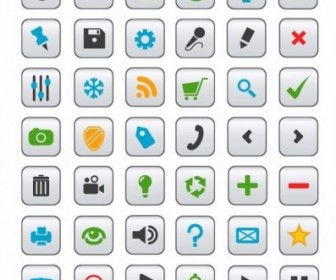 Vector Icon Collection For Web Design Vector Pack