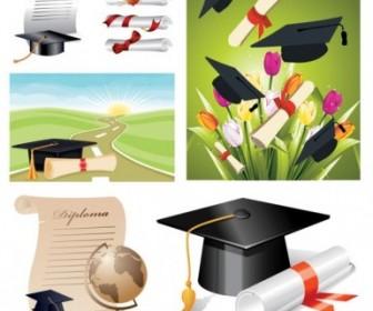 School Graduation Clip Art Vector Misc