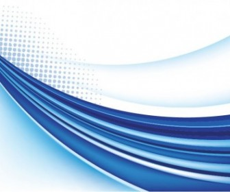 Abstract Blue Background Vector Graphic