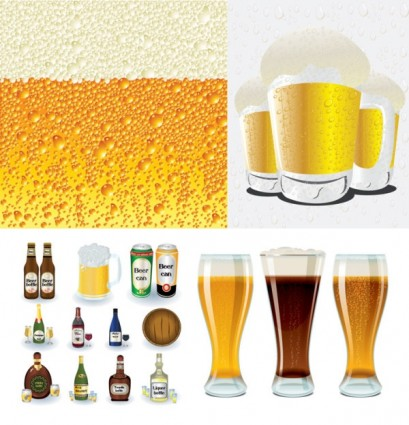Beer Series Vector Illustration Ai Svg Eps Vector Free