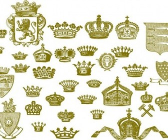 European Crown Series Vector Pack