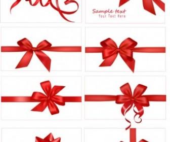Festive Gift Bow Vector