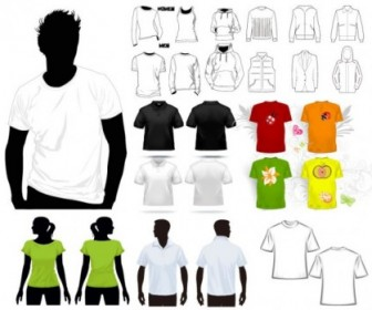 Tshirt Template Vector